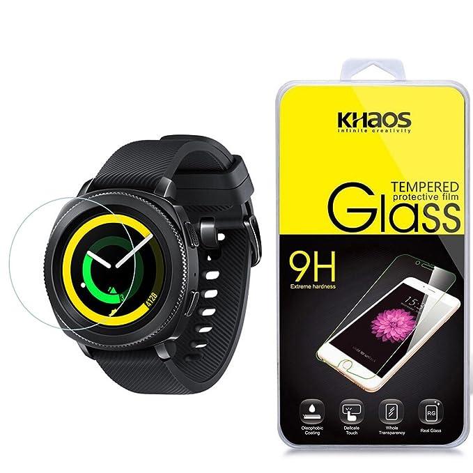 Samsung Gear deporte Smartwatch Protector de pantalla, Khaos ...