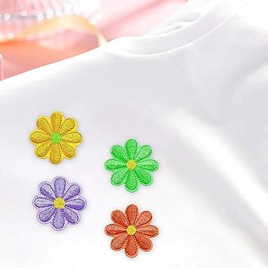 Amazon.com: PGMJ 40 parches bordados para ropa de cama ...
