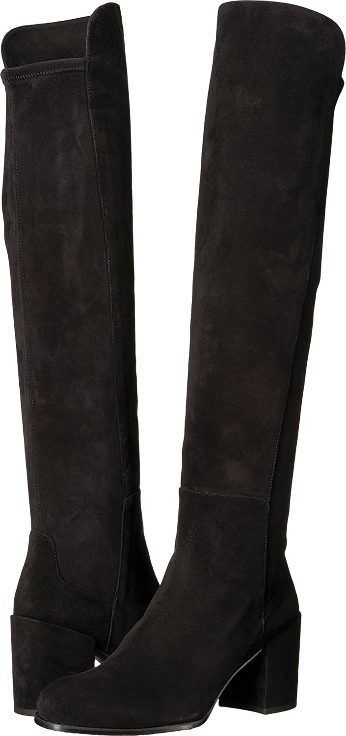 Stuart Weitzman Women's Alljack Over The Knee Boot B06WW8T275 8.5 N US|Black Suede