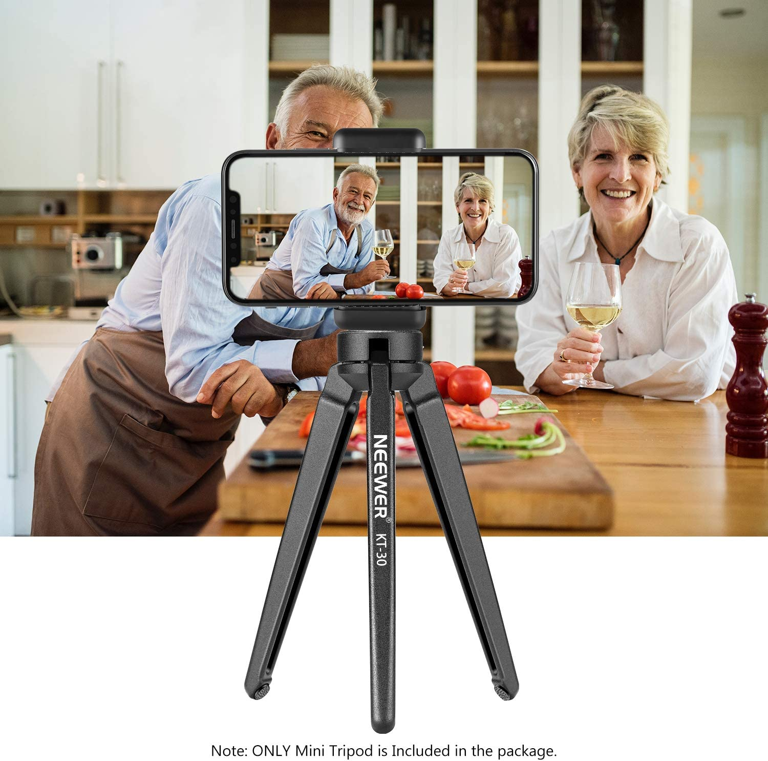 Neewer Metal Mini Tripod,Desktop Tabletop Stand Tripod for V5,Smooth 4,Crane Plus,Crane 2,OM 4,Osmo Mobile,Ronin-S,Vimble 2,iSteady Mobile Gimbal Handle Grip Stabilizer and Cameras,load up to 11lbs : Camera & Photo