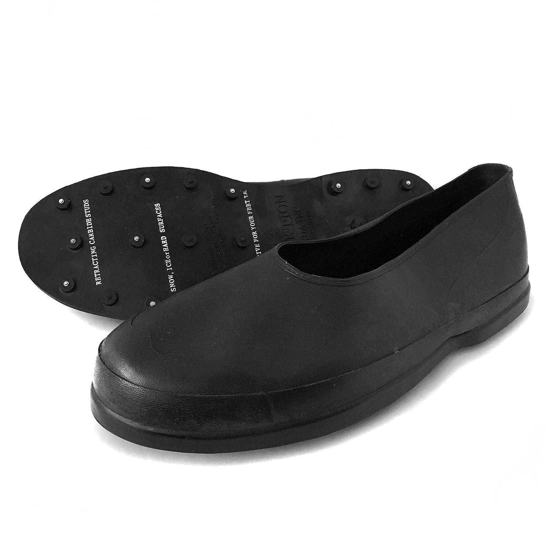 TracktionラバーシューズカバーIce Cleats – すべてのホイールドライブfor your feet 11  B079K621DC