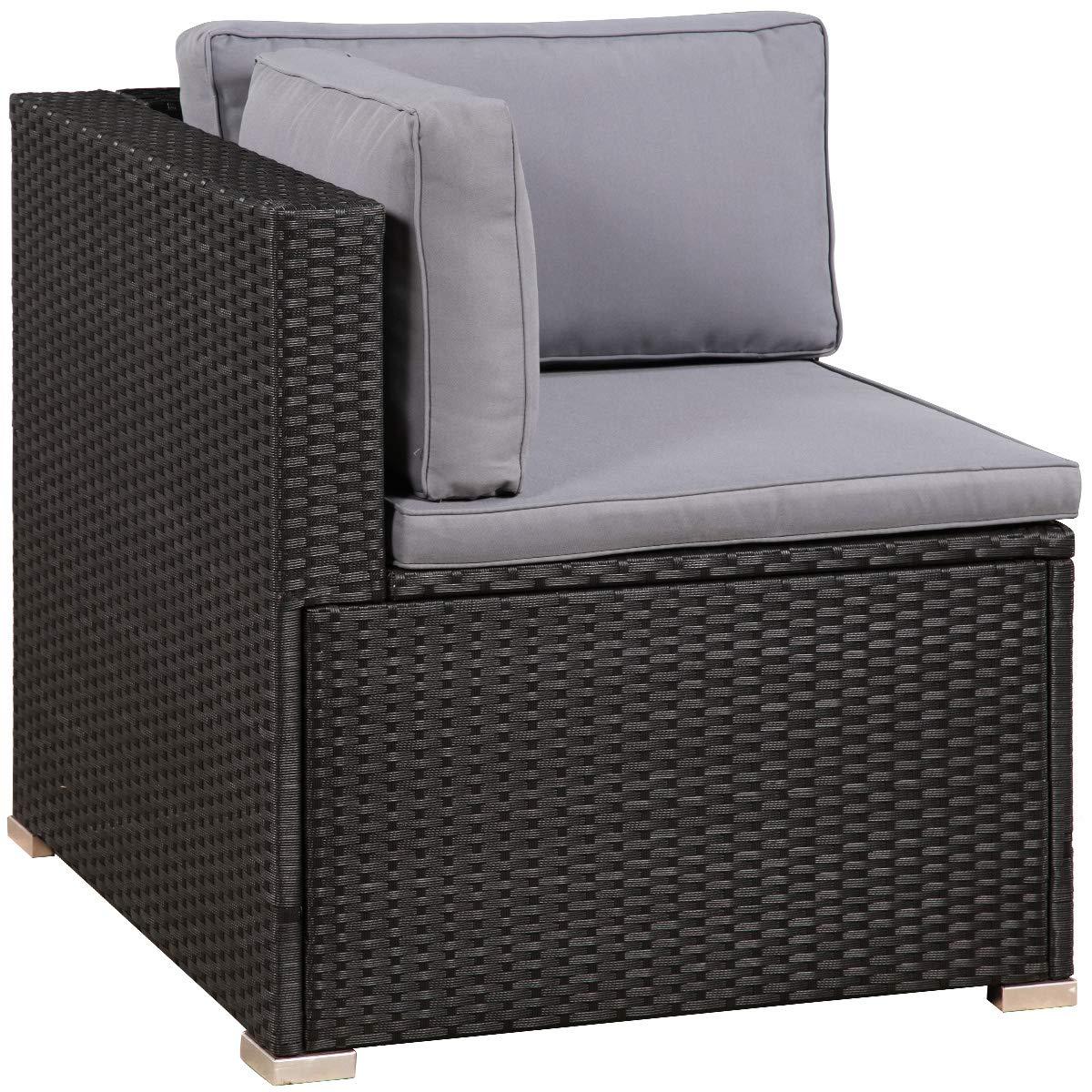 Amazon.com: Teeker - Juego de muebles de patio de 7 piezas ...