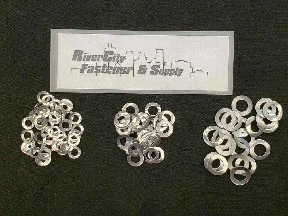 50 Pcs of M6 /& 30 of M8 /& 20 of M10 Stainless Steel Wave//Curved Washers DIN 137A