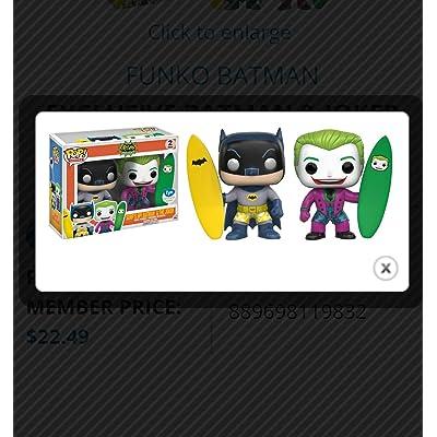 Funko Pop Batman & Joker Surfs Up 2 Pack 11983 - FYE Exclusive: Home & Kitchen