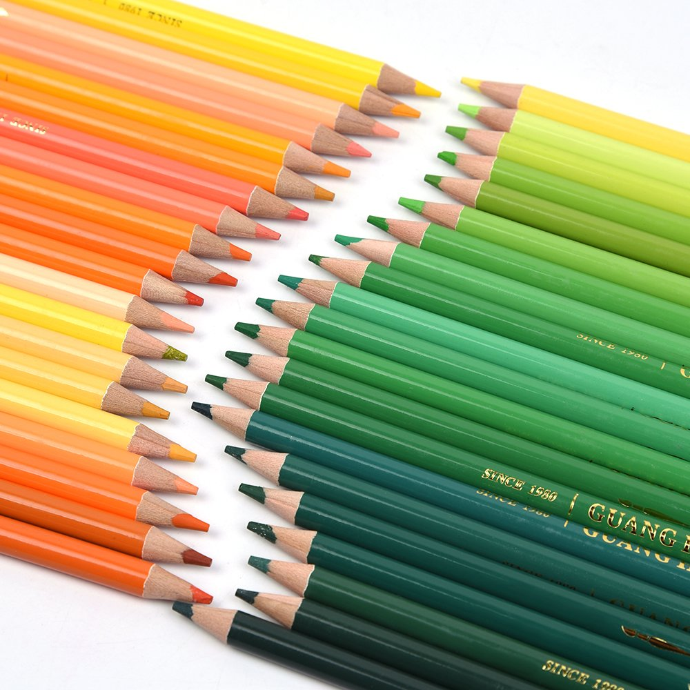 Amazon.com : 150 Watercolor Pencils - Professional Water Soluble ...