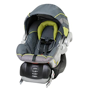 Amazon.com : Baby Trend Flex-Loc Infant Car Seat, Carbon : Rear ...