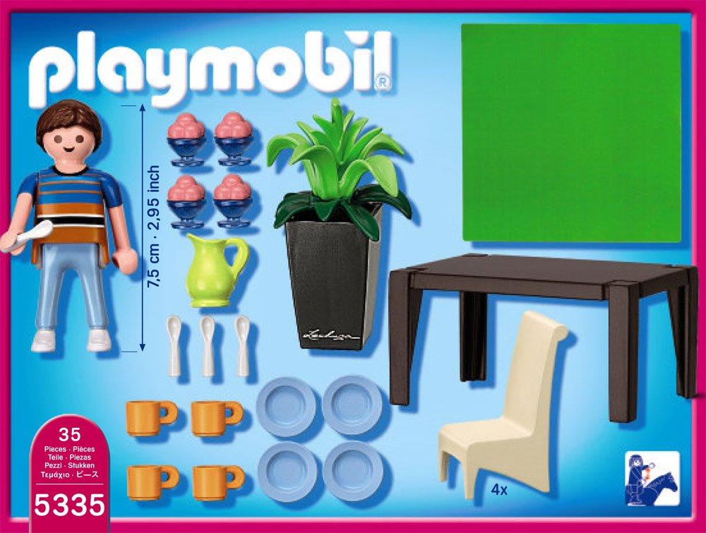 PLAYMOBIL 5335 - Schickes Esszimmer: Amazon.de: Spielzeug