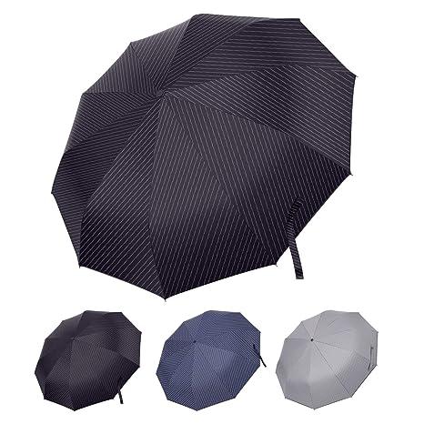 Travel Umbrella Sun and Rain Umbrella Compact Ultra Lightweight Parasol black GBU Mini Umbrella