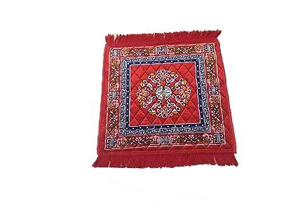AAZEEM Abstract Polyester Meditation Mat