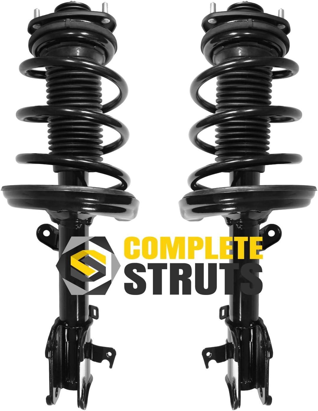 1331634 Front Driver and Passenger Side Complete Strut Spring Assembly fit for 2006-2014 Honda Ridgeline TUPARTS Struts