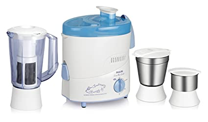 Buy Philips Hl1632 500 Watt 3 Jar Juicer Mixer Grinder With Fruit