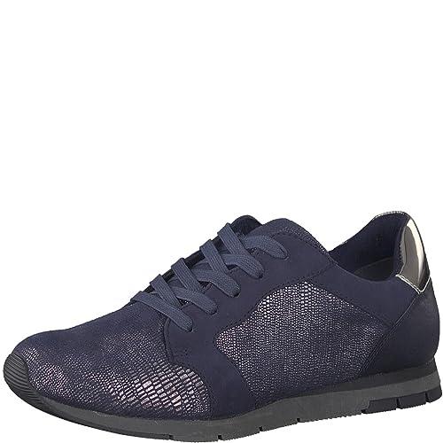 Tamaris 1 1 23617 20 Damen Sneaker Schnürer, Schnürhalbschuhe, Schürschuhe, sportliche Halbschuhe, Sommerschuhe für die modebewusste Frau
