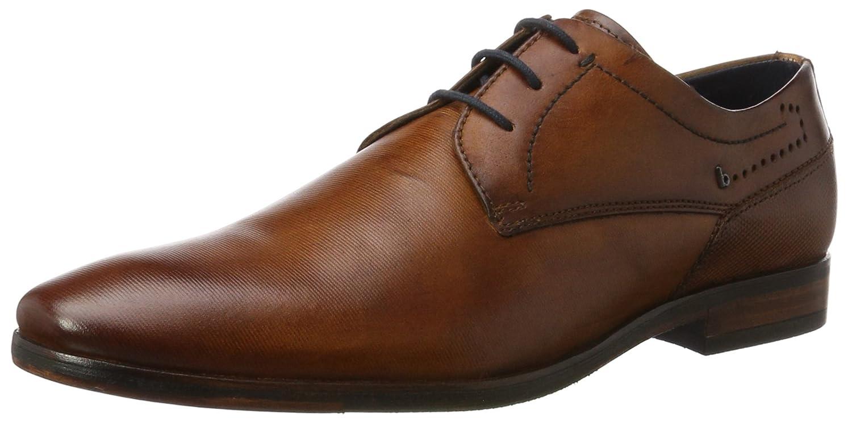 TALLA 42 EU. bugatti 312294011100, Zapatos de Cordones Derby para Hombre