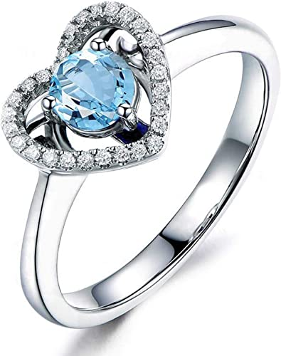 Amazon Com Epinki 925 Sterling Silver Ring Anniversary Ring For