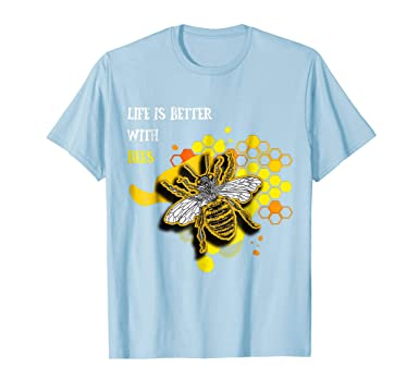 Tops & Tees Funny Men T Shirt Women Novelty Tshirt Bee With Gas Mask S Cool T-shirt Reasonable Price Back To Search Resultsmen's Clothing