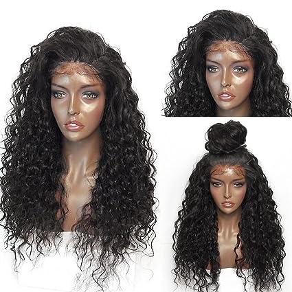 Wicostar JS peluca Lace Front sintético peluca de pelo pws410 rizado barato