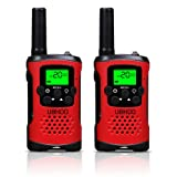 Amazon Price History for:Kids Walkie Talkies, UOKOO 22 Channels and Back-lit LCD Screen (up to 6KM in open areas) Walkie Talkies for Kids (1 Pair) Red T48