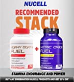 Horny Goat Weed Fuel - High Performance Booster for Men - Increase Stamina, Strength, Performance - Energy, Mood, Endurance Boost - All Natural Performance Supplement 90 Caps Manufactured USA