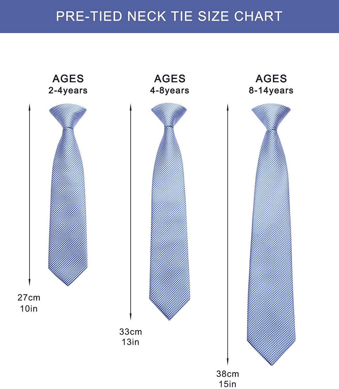 Boys Red /& White Baseballs Sports 14 Clip On Pre-Tied Necktie Tie