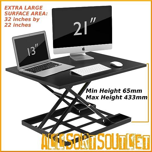 Altura ajustable escritorio ergonómico Sit para soporte ...