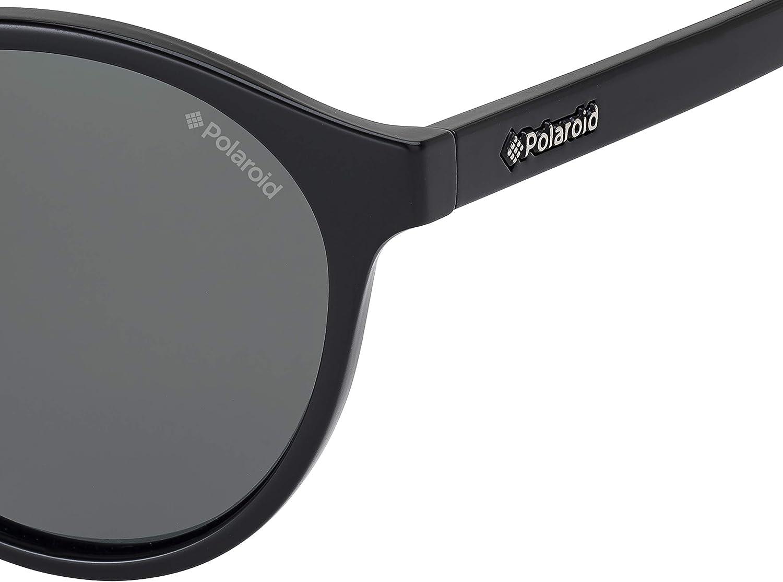 Materiale leggero Polarizzati Occhiali da sole Uomo Rotondi Polaroid Custodia protettiva inclusa PLD 1013//S