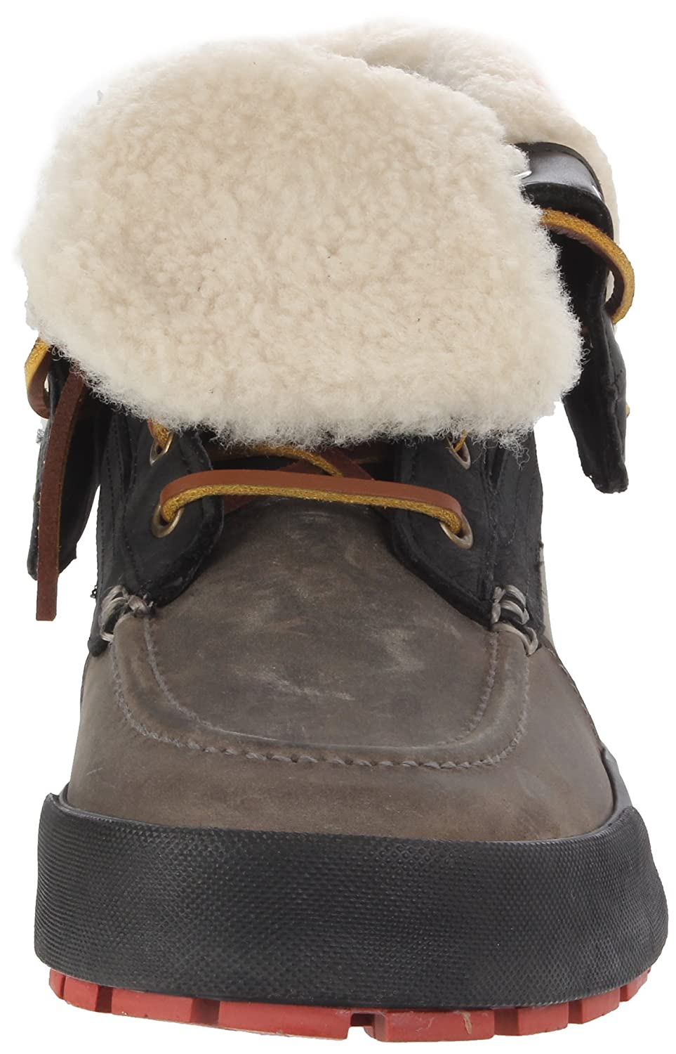 Amazon.com | Polo Ralph Lauren Mens Declan, Black/Grey 7.5 D US | Snow Boots