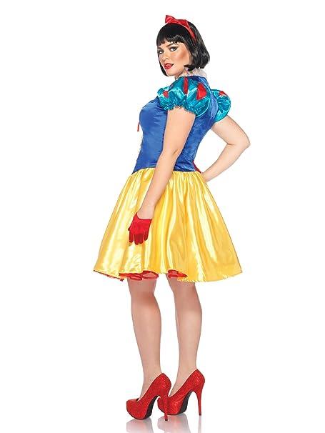 fa45bc35372 Leg Avenue Women s Disney Snow White Plus Size Costume  Amazon.ca ...