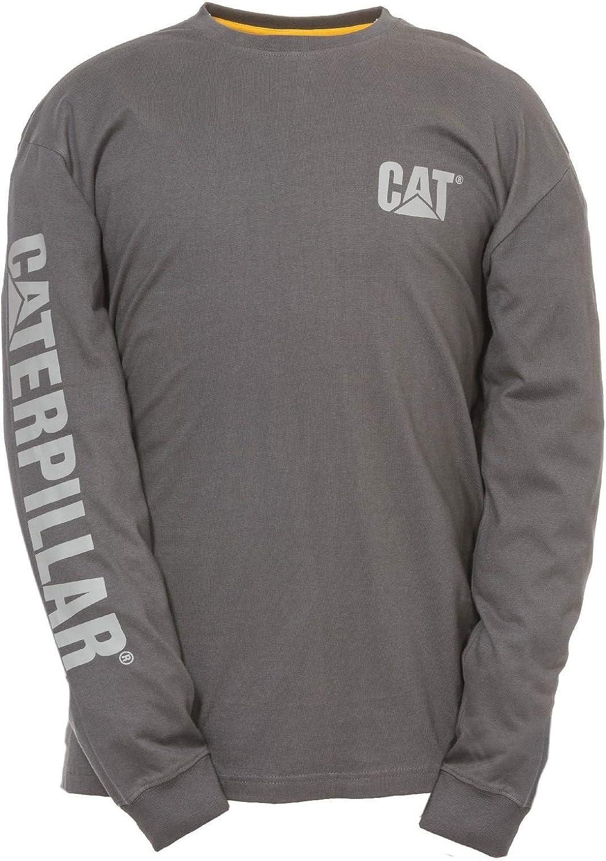 Caterpillar - Camiseta de Manga Larga con Logo Trademark para ...