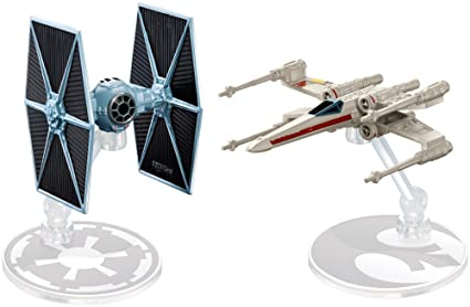 87ce18c45671 Image Unavailable. Image not available for. Color: Hot Wheels Star Wars  Rogue One Tie Fighter ...