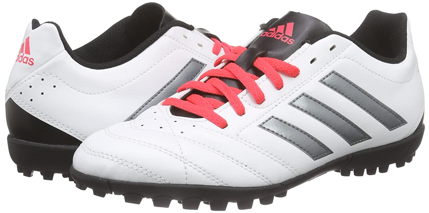 adidas Goletto V TF, Botas de fútbol para Hombre, Blanco (FTWR White/Night Met. F13/Shock Red S16), 48 EU: Amazon.es: Zapatos y complementos