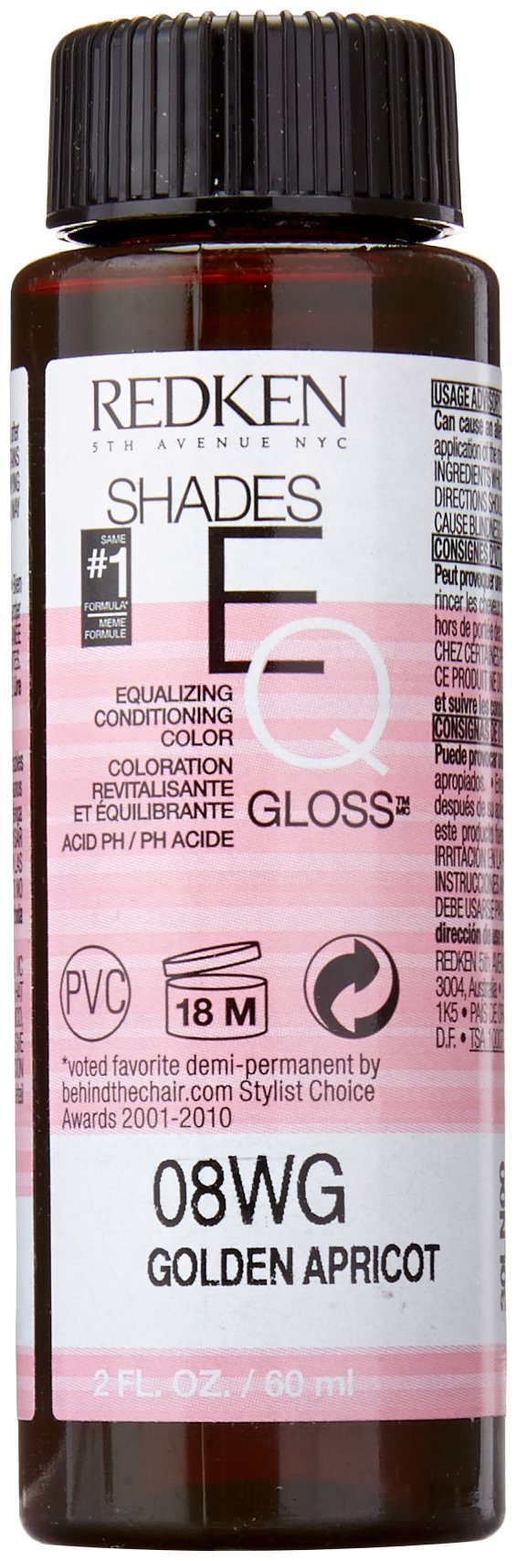 Amazon Redken Shades Eq Gloss For Women Hair Color Cayenne 2