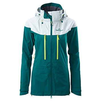 Katmandú Jardin mujeres Gore-Tex 3 capa chaqueta impermeable ...