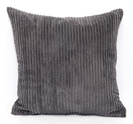 """Large Chenille Cushion/'s//Covers  Set Of 2  24/"""" x 24/"""" Each  Various colours"""