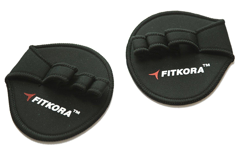 Guantes de gimnasio/entrenamiento Grips: almohadillas de neopreno de calidad para hombres y mujeres por fitkora de levantamiento de pesas, crossfit Training ...