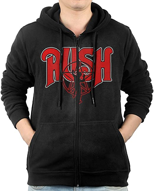 Rush /'Department/' Pull Over Hoodie NEW /& OFFICIAL!