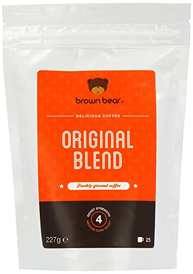 Brown Bear Original Blend Café Molido Tostado Oscuro Medio 227 g