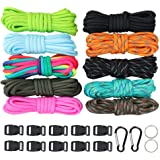 WEREWOLVES Paracord 550/350lb Type III - Paracord Bracelet Crafting Kits -Many Colors of Parachute Cord Outdoor Survival…