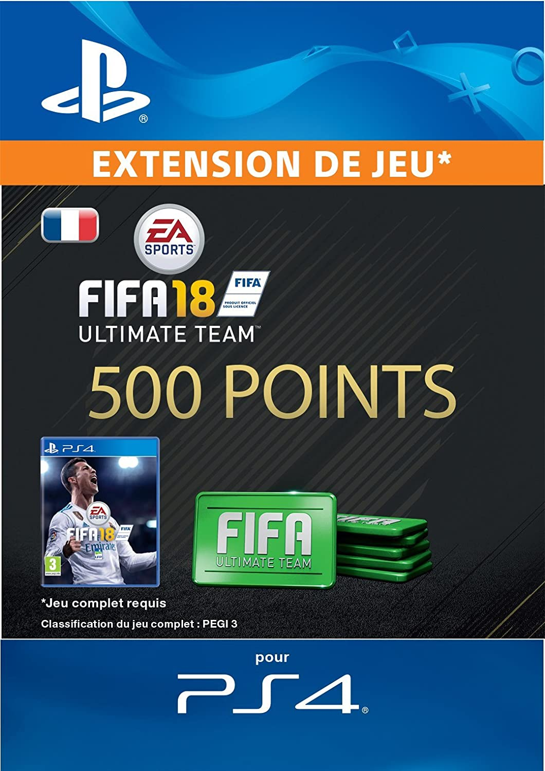 Fifa 18 ultimate team 1600 points fifa code jeu ps4 compte fifa 18 ultimate team 500 points fifa code jeu ps4 compte franais fandeluxe Images