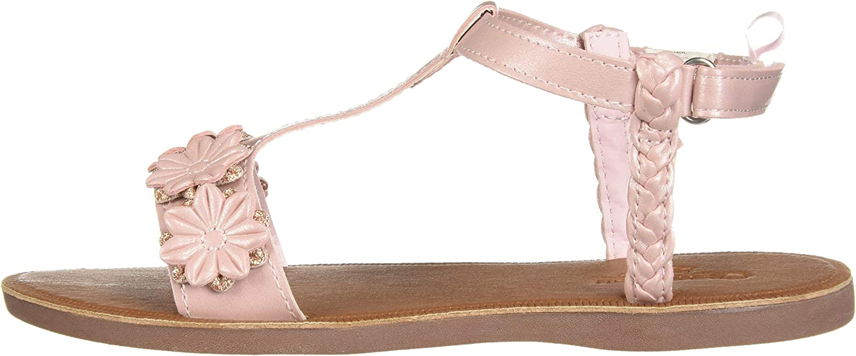 OshKosh BGosh Girls Marian Flower Sandal 1 M US Little Kid Pink