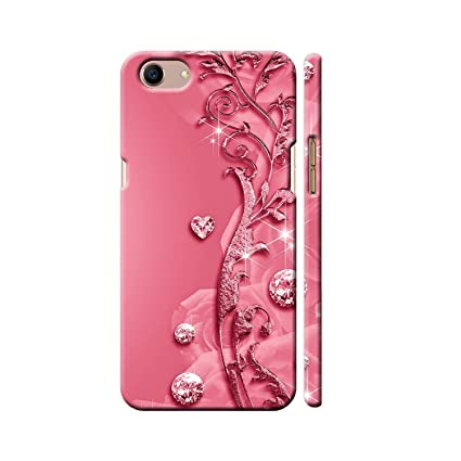 new products a0088 fd692 Clapcart™ Realme 1 Designer Printed Back Cover for Oppo Real me 1 / Realme  1 -Pink Color (Heart Design Print for Girls)