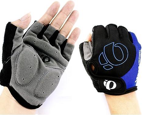 Men/'s Sports Cycling Gloves Bike Gel Pad Half Finger MTB Bicycle Shockproof NEW/&