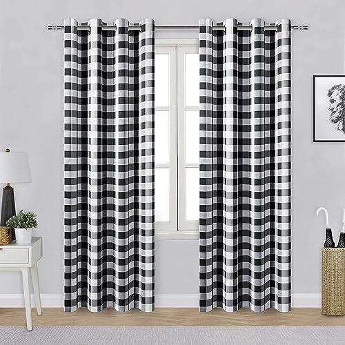 Hiasan Buffalo Plaid Blackout Curtain