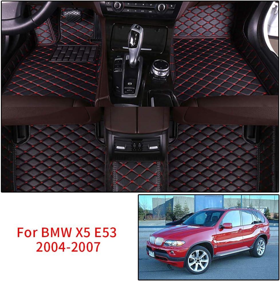 HNXCBH Alfombrillas Coche Encargo del Piso del Coche esteras for BMW E36 E39 E46 E60 E90 F10 F15 F16 F30 X1 X3 X4 X5 X61 2//3//4//5//6//7 Series pie Mats Accesorios for autom/óviles Alfombrilla Coche