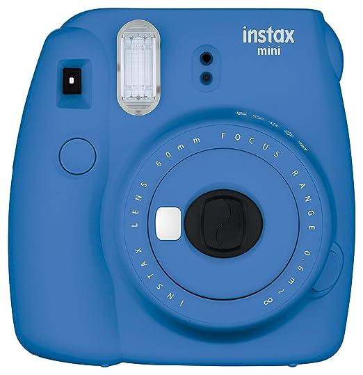 Fujifilm Instax Mini 9 Instant Camera - Cobalt Blue Instant Cameras at amazon