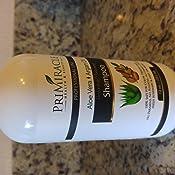 Amazon.com: Natural Restaurativa Hidratante Champú con Aloe ...