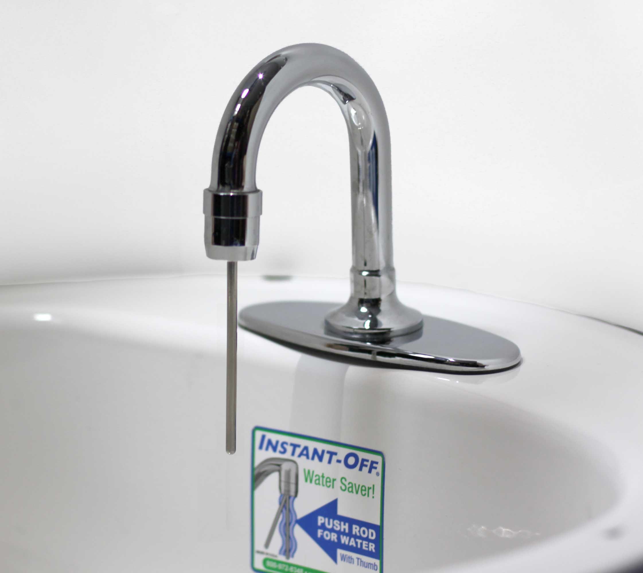INSTANT-OFF Automatic Hand-Wash Faucet 100 For Small Hand Wash Sinks The Lowest Priced Automatic Faucet in the World!