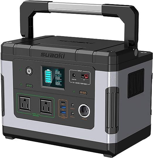 Amazon.com: Suaoki - Generadores solares, estación de ...