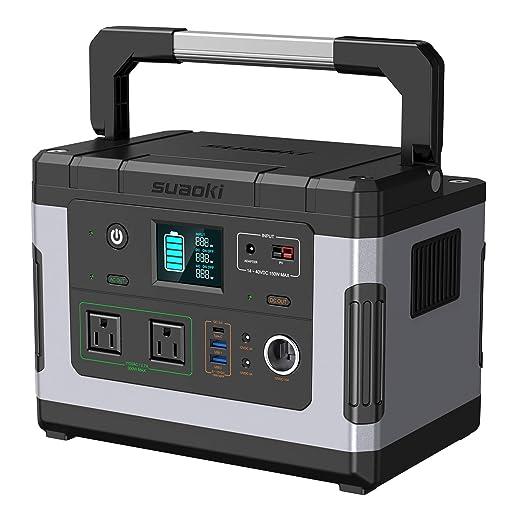 SUAOKI - Generadores solares, G500 estación de energía ...