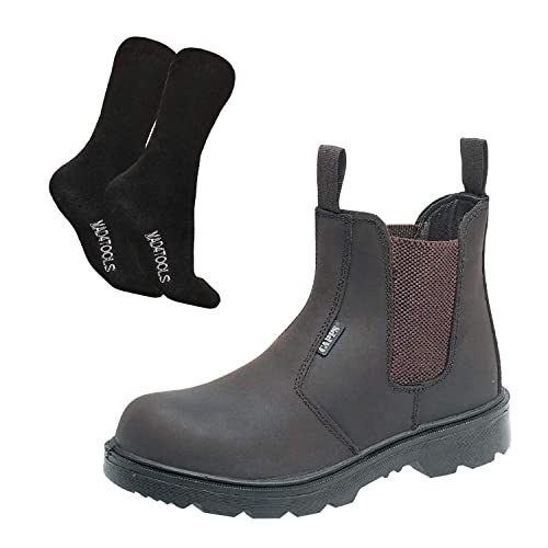 8ea8b1b9f2f LH408 Dealer Safety Boots & mad4tools Work Socks: Amazon.co.uk ...