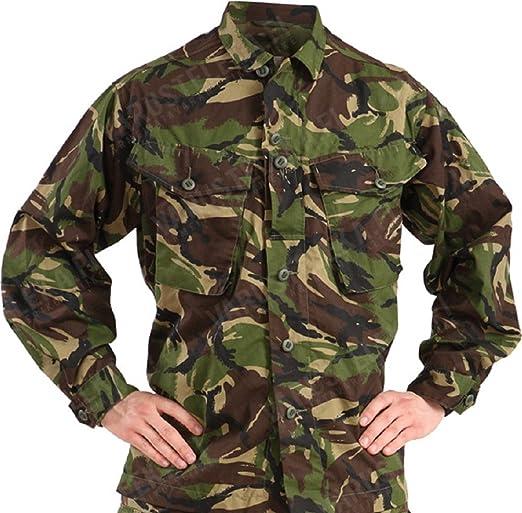 Chaqueta liviana de combate, para soldado del ejército británico, verde, L.ARGE: Amazon.es: Deportes y aire libre